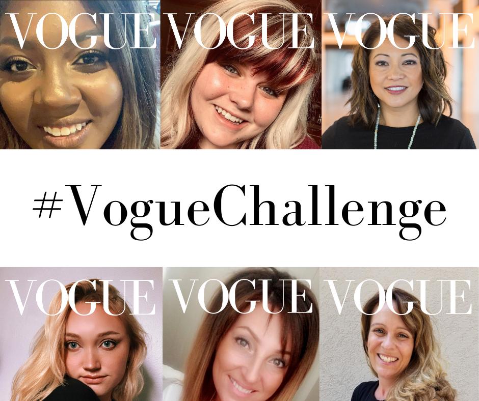 #VogueChallenge